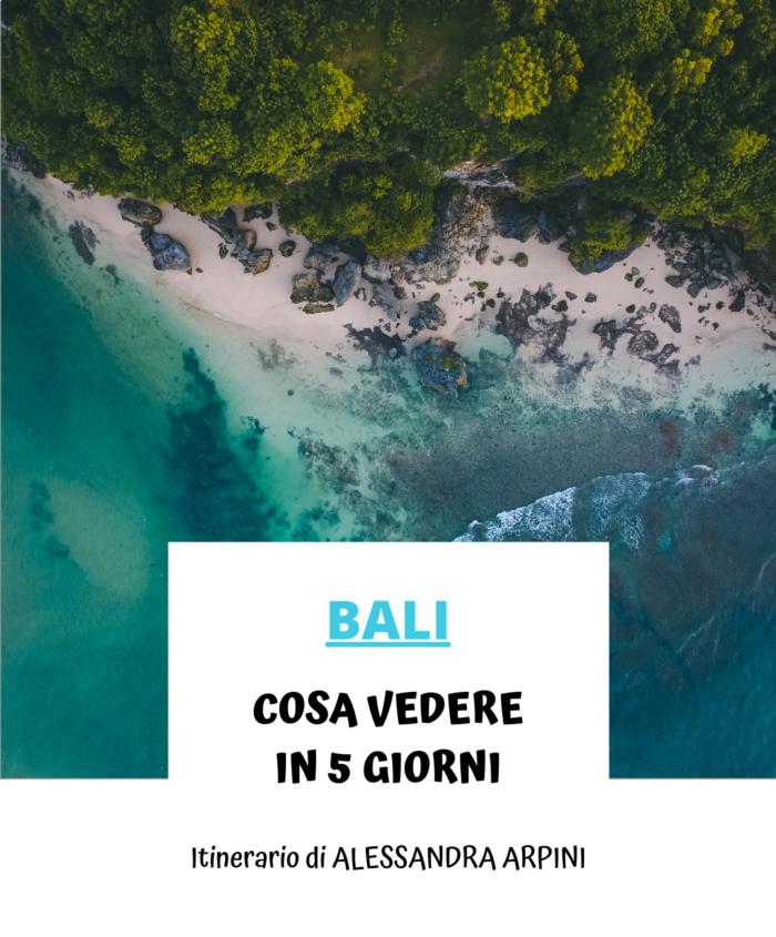 Cosa vedere a Bali ( 5 giorni)