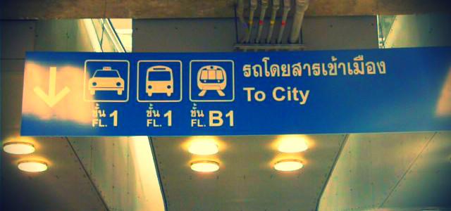 Come arrivare dall'aeroporto di Bangkok al centro