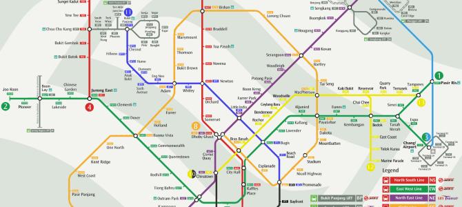 Come arrivare dall'aeroporto di Singapore al centro