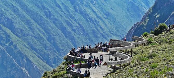 """Arequipa: cañon del Colca e bagni termali """"La Calera"""""""