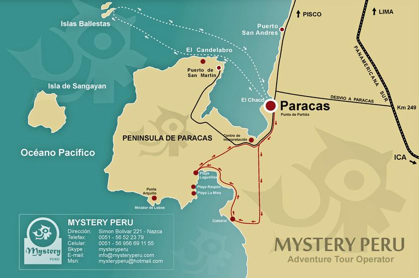 map-ballestas-paracas-circuito-turistico