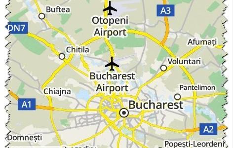 Come arrivare dall'aeroporto di Otopeni al centro di Bucarest