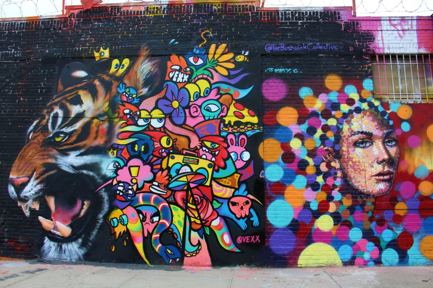 Itinerario di graffiti e street art a New York
