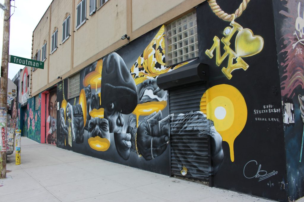 Tour graffiti New York