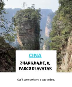 Zhangjiajie Parco di Avatar