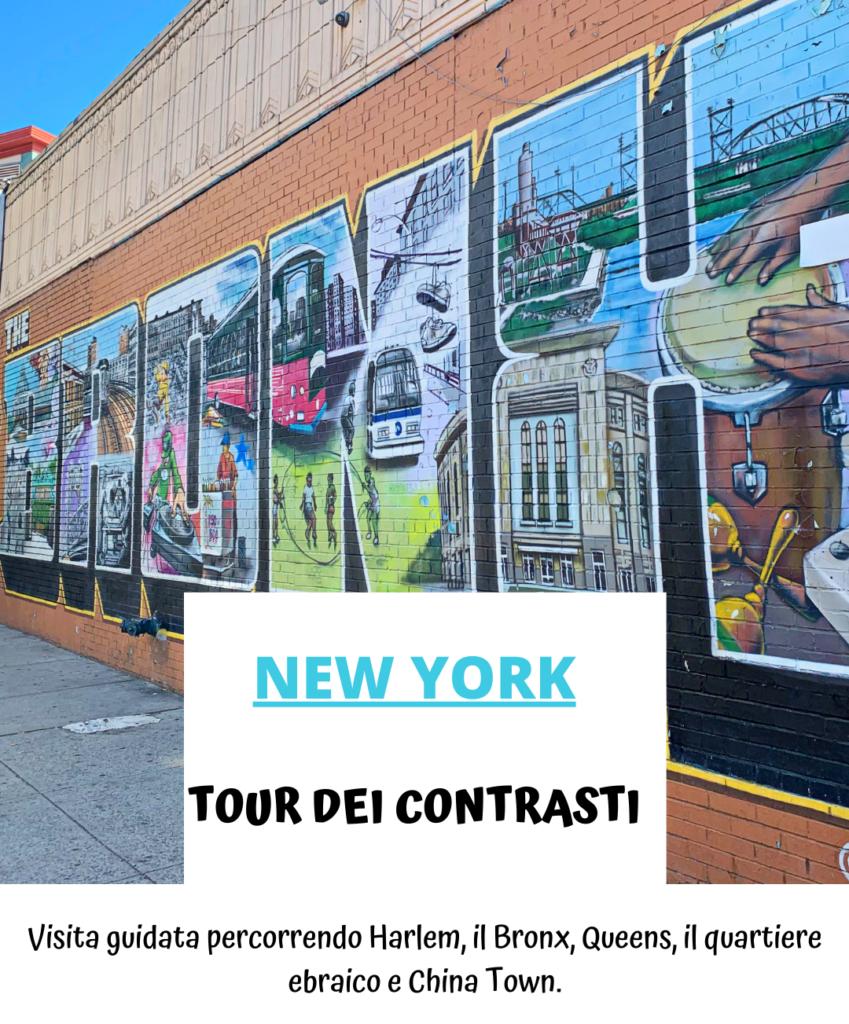 Tour dei contrasti New York