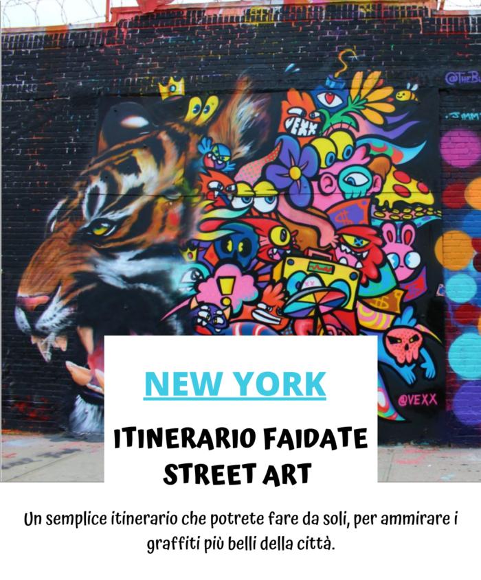 Tour di graffiti e street art a New York