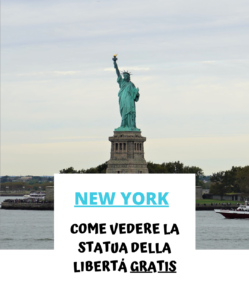 Statua della libertà gratis