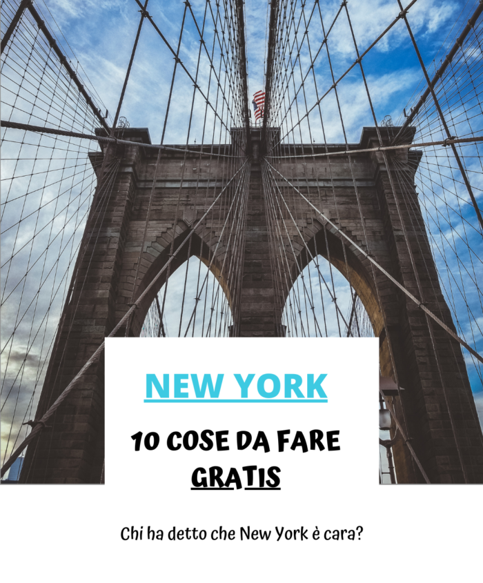 10 cose GRATIS da fare a New York