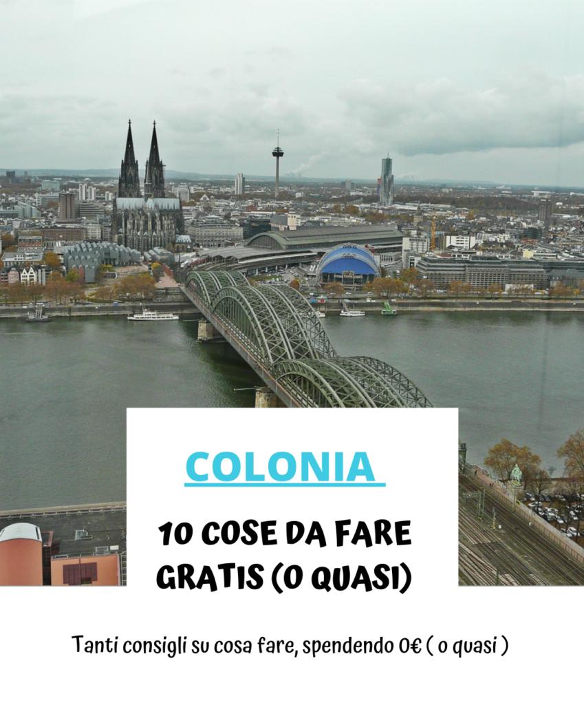 Cosa fare a Colonia