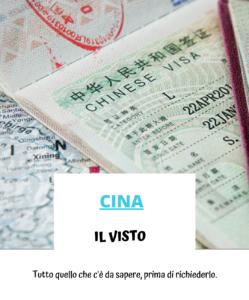 Il visto per la Cina