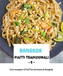 Piatti tradizionali thailandia