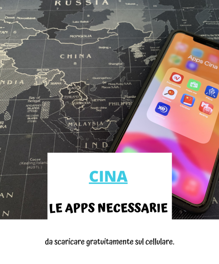Le APPs necessarie per viaggiare in Cina