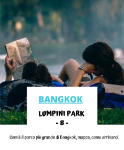 Lumpini park parco Bangkok