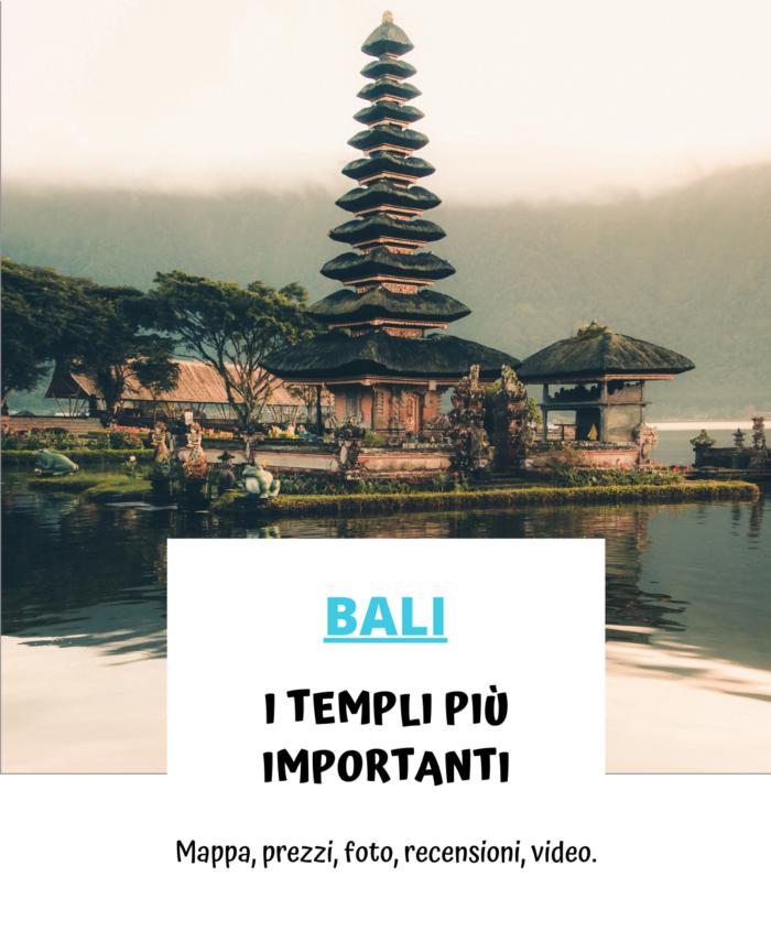 Cosa vedere a Bali. I templi più importanti.